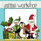 Clip Art: Santa's Workshop