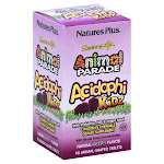 Nature's Plus Animal Parade Acidophi Kidz Chewable Tablets - 90 count box