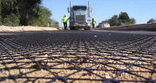 Geogrids- its Types, Functions, Applications and Advantages