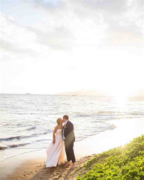 A Tropical, Colorful Wedding in Maui   Martha Stewart Weddings