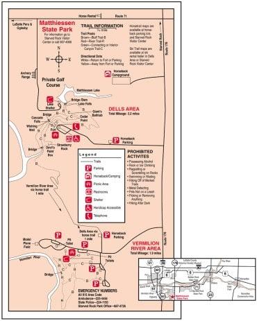 Matthiessen State Park Trail Map : matthiessen, state, trail, Matthiessen, State, Trail, Catalog, Online