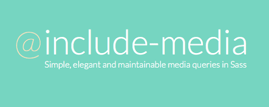 Create Simple Inline Media Queries with include-media