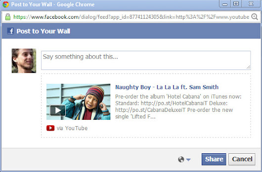 Two Ways to Add YouTube Videos to Your Wall on Facebook
