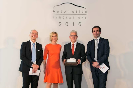ZF wins Auto Innovations Award for Hybrid Transmission -
