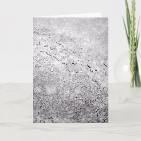 Melting Snow Greeting Card