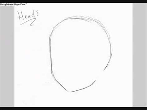 draw anime heads youtube