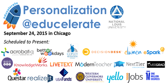 2015 Educelerate Conference: Personalization and Student Success
