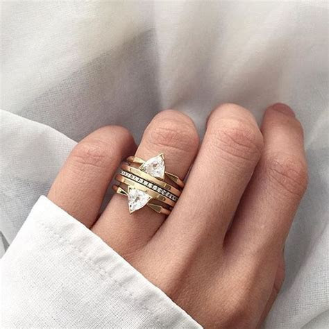 1000  ideas about Multiple Rings on Pinterest