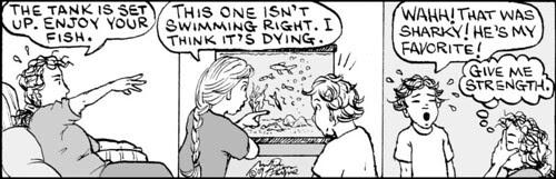 Home Spun comic strip #381