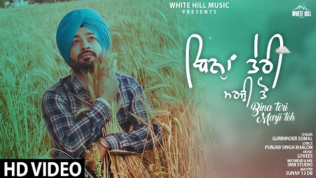 Bina Teri Marzi Toh Lyrics - Gurminder Somal - Hindi Lyrics