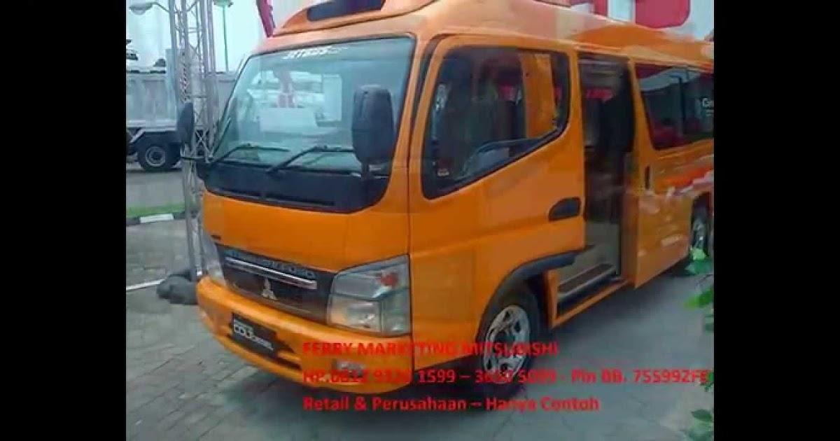 49 Mitsubishi Canter Minibus Modifikasi Terbaru