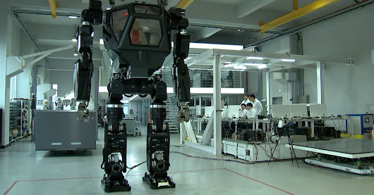 Hankook Mirae's sci-fi looking robot cost over $100 million to develop