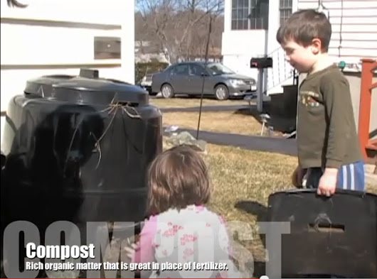 Teaching Your Children to Compost Video