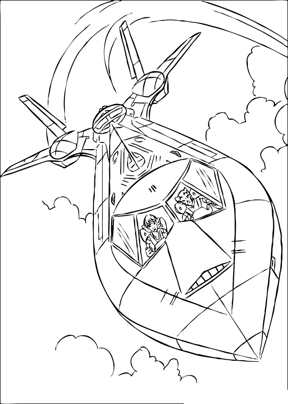 Boys Coloring Pages January 2009