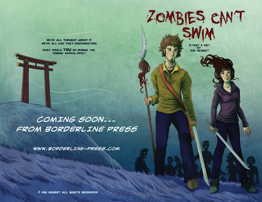 Kim Herbst - Illustration: Zombies Can't Swim - PUBLISHED!