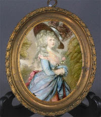 Gainsborough miniature