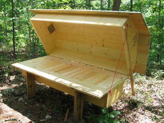 Bee Bed | Sleep With Bees | Free Hive Plans