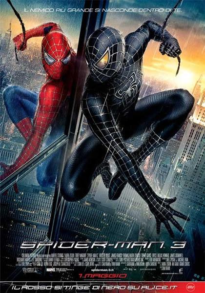 Locandina Spiderman 3