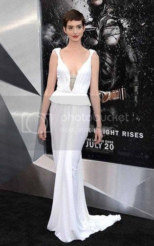 Anne Hathaway The Dark Knight Rises NY Premiere