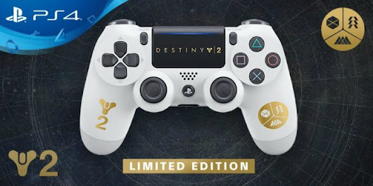 Limited Edition Destiny 2 Dual Shock 4 Controller Announced - Technology News & Reviews For Smart Phones, Tablets, Laptops, T.v - TECHTOYREVIEWS