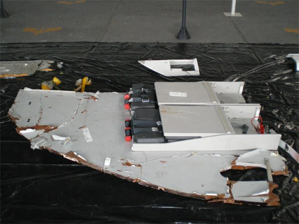 Wreckage Flight Attendant Seats - Air France flight 447 (AF447)
