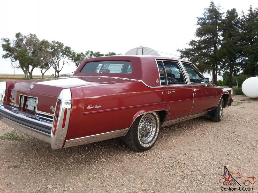 1986 Cadillac Fleetwood Brougham, 22K, One owner Miles ...