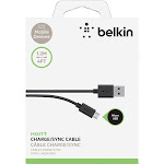 Belkin MIXIT 4ft Micro USB ChargeSync Cable, Black USB cable - 4 ft