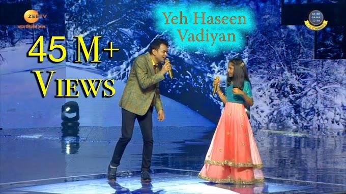 ये हसीं वादियां, ये खुला आसमां Ye Haseen Wadiya Lyrics | SP Balasubrahmanyam