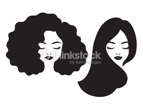 美しい女性が笑ってピースしているイラストのイラスト素材 20134756