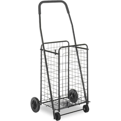 whitmor deluxe rolling utility cart black - Rolling Utility Cart