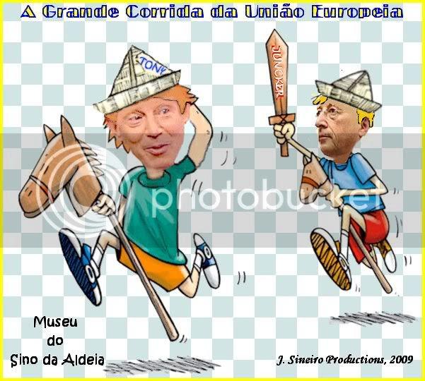 Museu 121 - A Grande Corrida Europeia Blair vs. Juncker