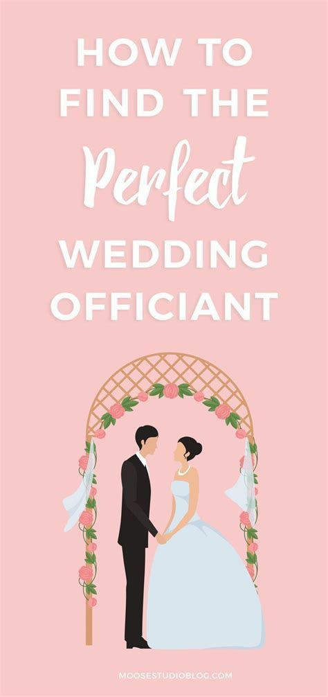 How To Find The Perfect Wedding Officiant For Your