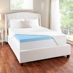 Sleep Innovations Evencor Gel Memory Foam Queen Mattress Topper