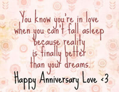 You Know You Are In Love Anniversary Quote Quotespicturescom