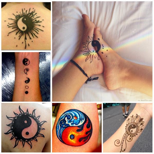 Tatuaje Significativo De Yin Yang