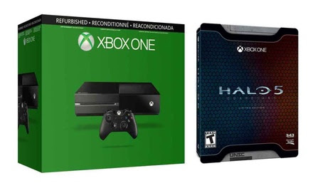 Xbox One Console W/Halo 5 Guardians Limited Edition (Refurb)