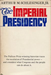 The Imperial Presidency Book Cover, Arthur Schlesinger, Jr.