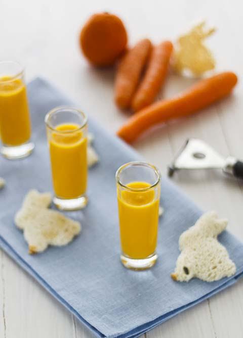 Crema de zanahoria y naranja (4)