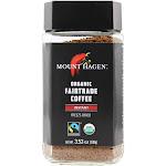 Mount Hagen Organic Fairtrade Instant Coffee Freeze Dried 3.53 oz.