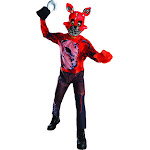 Rubie's Costume Boys Five Nights at Freddy's Nightmare Foxy The Pirate Costume, Medium, Multicolor