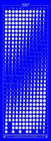 Moon Calendar 2007