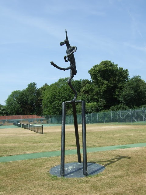 01 Flanagan, The cricketer