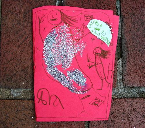 Ava Thursday: Ms. Sanders card cover