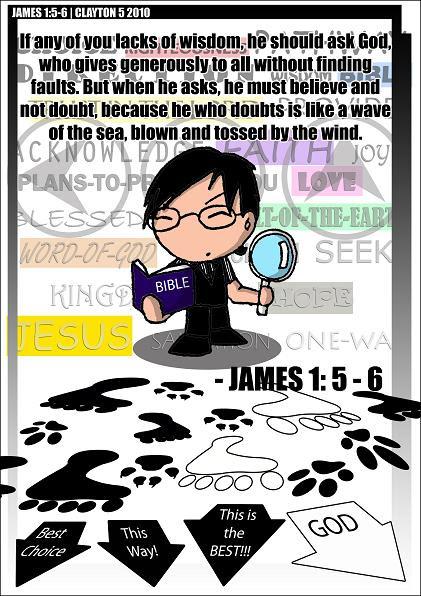 James 1;5-6