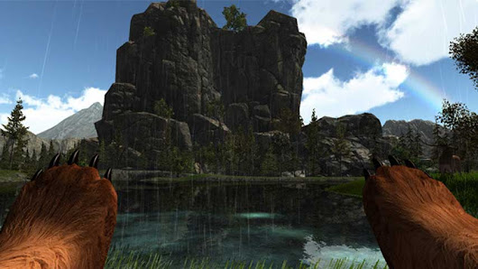 "Bear Simulator: ""It's like a mini Skyrim but you're a bear"""