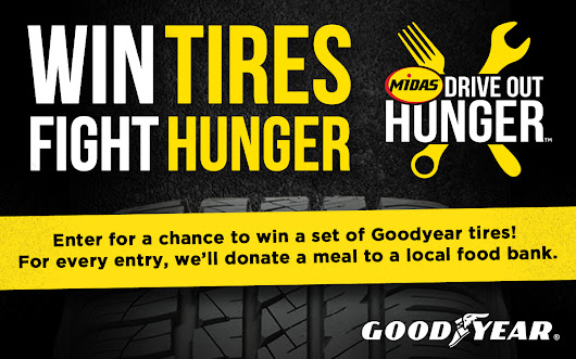 Win Tires, Fight Hunger!