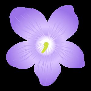 スミレの花イラスト2 花植物イラスト Flode Illustration フロデ