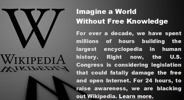 wikipedia - wikipedia english - protect - SOAP - PIPA - muwasalat.com - Protest