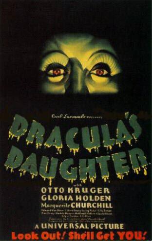 Dracula's Daughter (Poster)