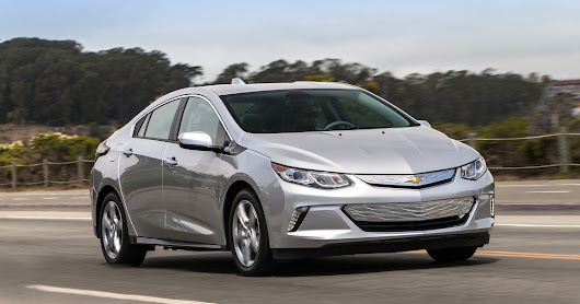 2016 Chevrolet Volt named Green Car of Year